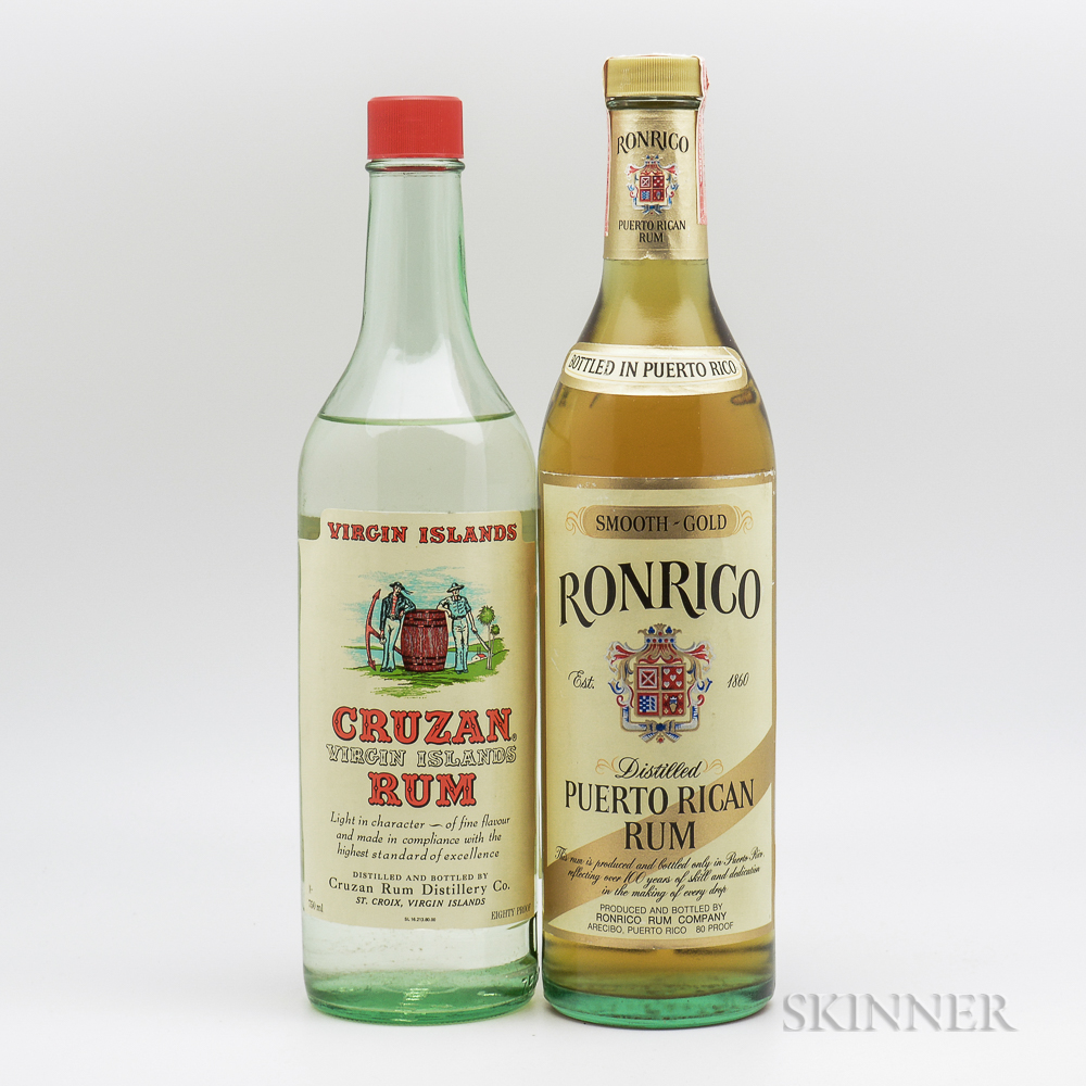 Mixed Rum, 1 4/5 quart bottle 1 750ml bottle