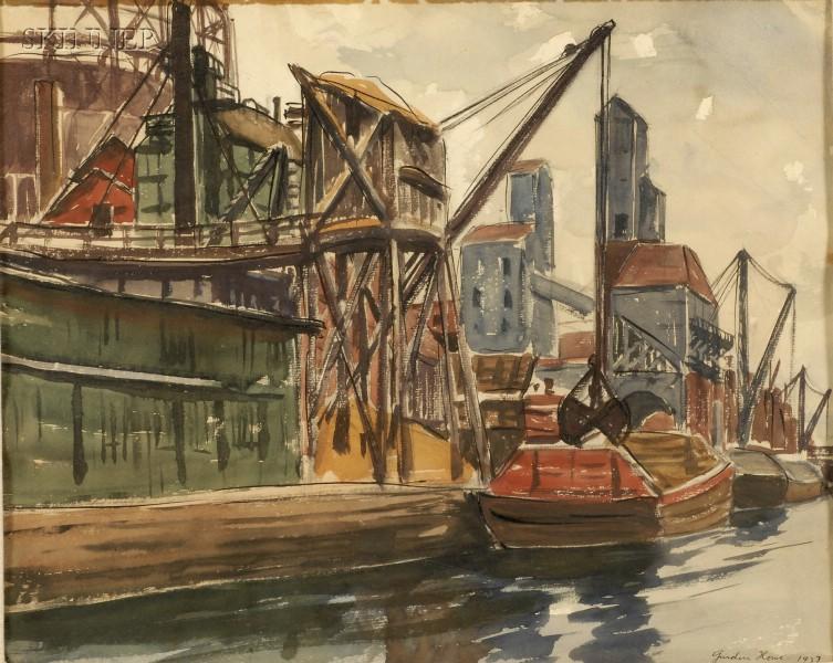 Gurden S. Howe (American, 1903-1984)      Harbor View