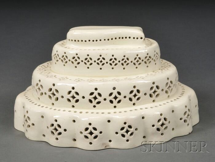 Creamware Culinary Mold
