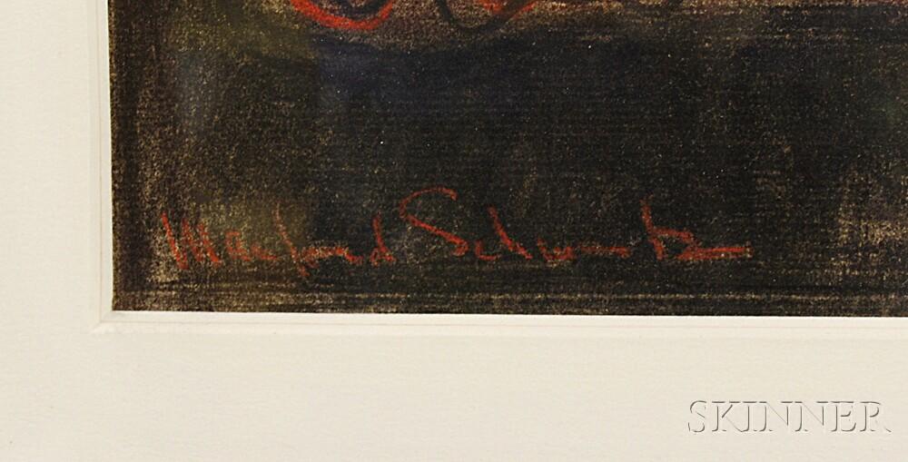 Manfred Schwartz (American, 1909-1970)      In the Studio