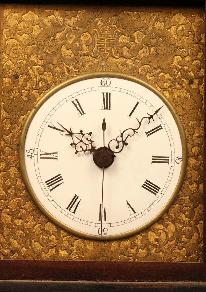 Chinese Verge Escapement Bracket Clock