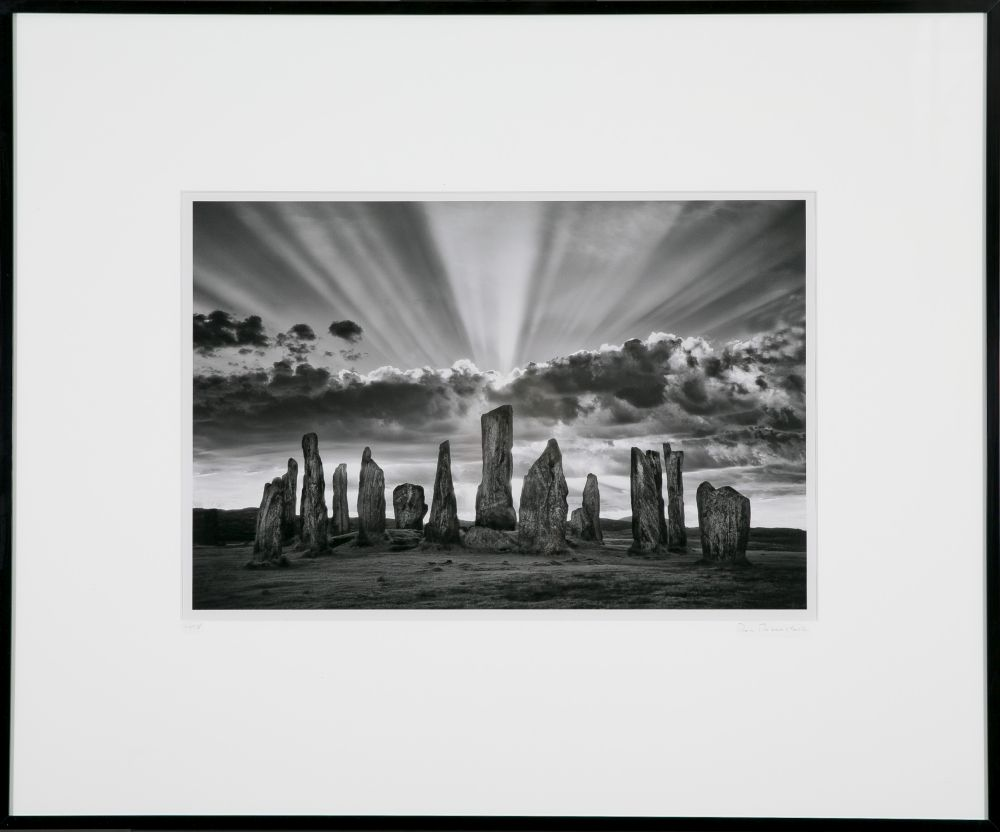 Ron Rosenstock (Massachusetts, b. 1943), Standing Stones of Callanish