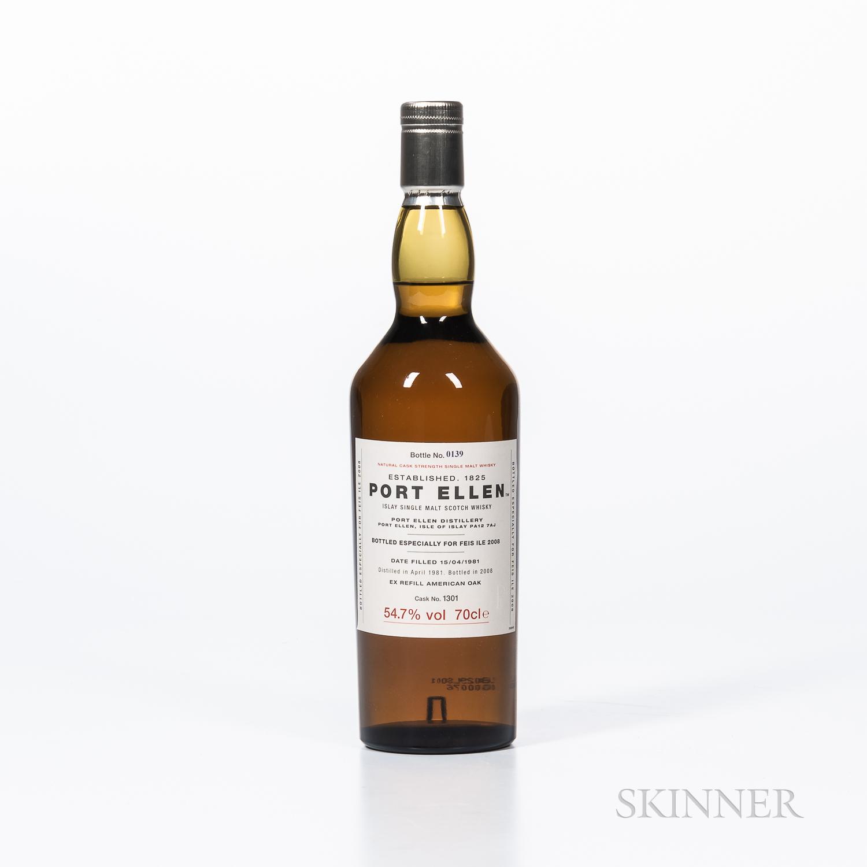 Port Ellen 27 Years Old 1981, 1 70cl bottle