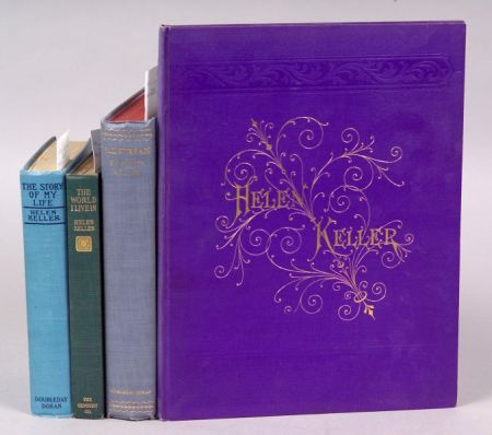 (Keller, Helen (1880-1968), Four Titles)