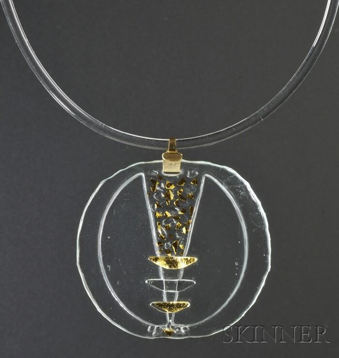 Solar-Lunar Necklace #7, Margret Craver
