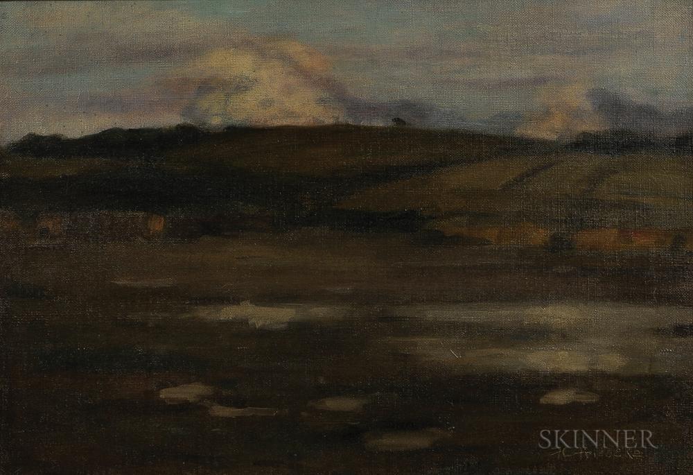 Frederick Carl Frieseke (American, 1874-1939)    Paesaggio