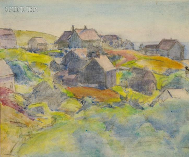 Margaret Jordan Patterson (American, 1867-1950)      Monhegan