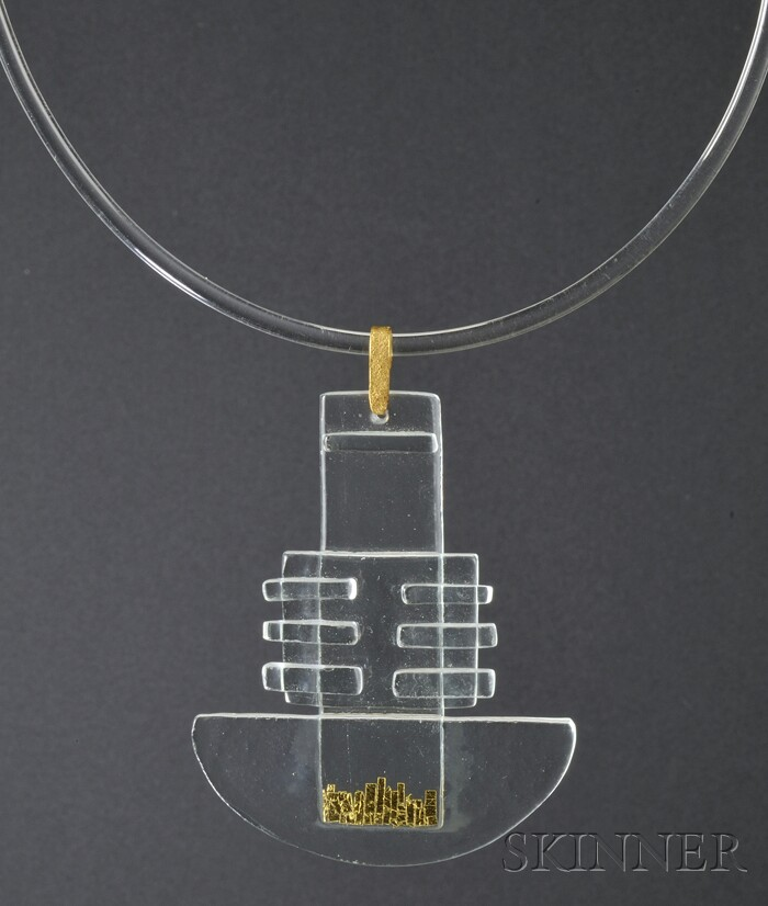 Solar-Lunar Necklace #8, Margret Craver