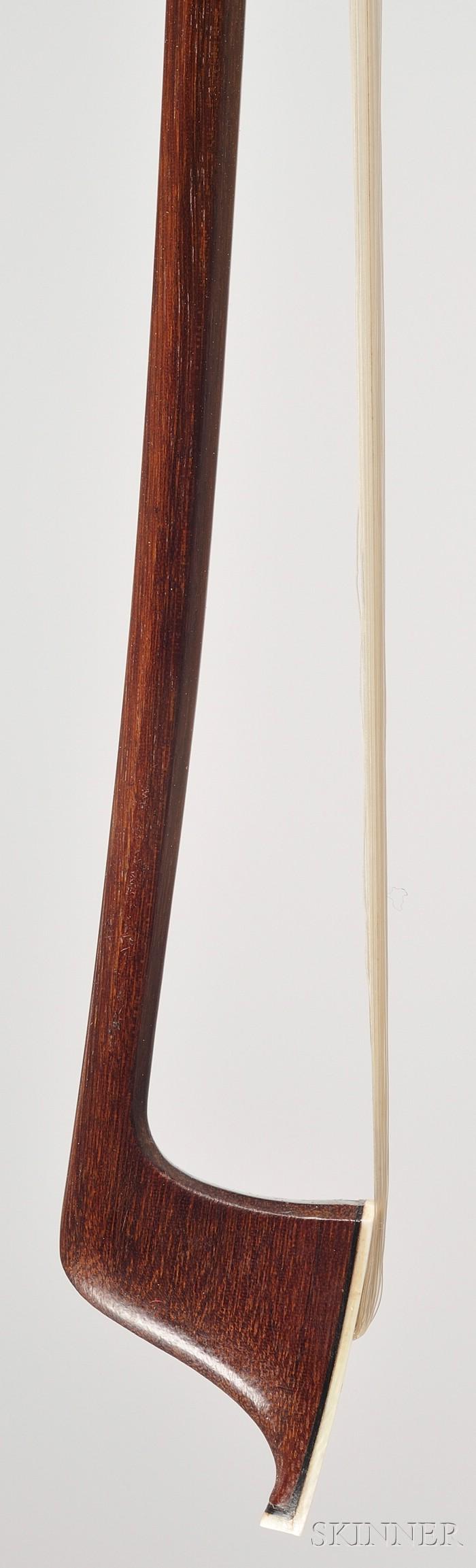 Silver Mounted Violoncello Bow, Albert Nurnberger