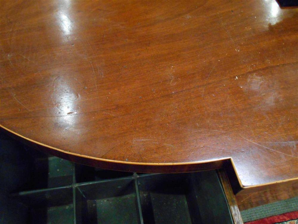 George III Inlaid Mahogany Sideboard
