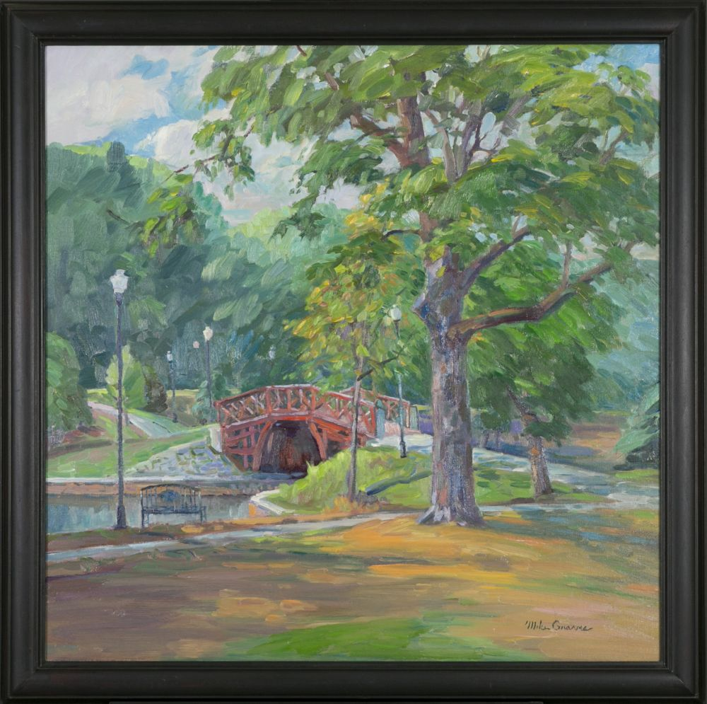 Michael Graves (Massachusetts, b. 1952), Kraft Footbridge at Elm Park