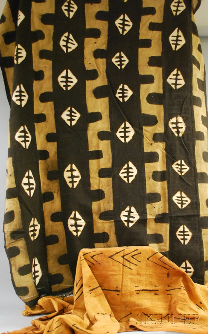 Two Ikat Textiles.
