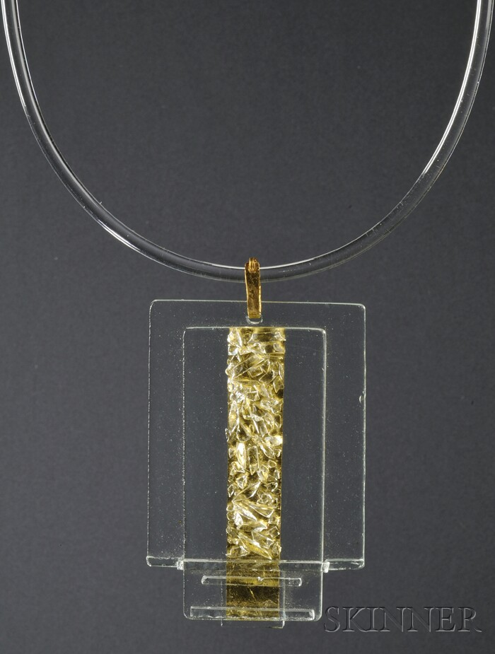 Solar-Lunar Necklace #9, Margret Craver