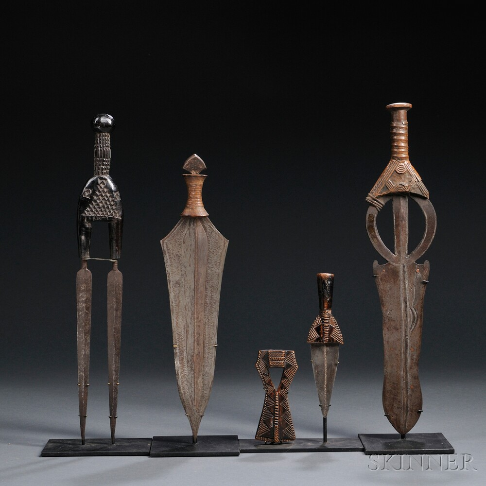 Four African Knives