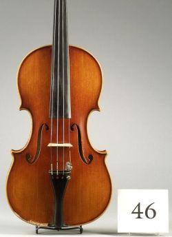 Modern Italian Violin, Marino Capicchioni, Rimini, 1963