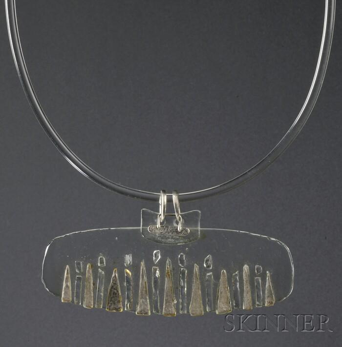 Solar-Lunar Necklace #10, Margret Craver