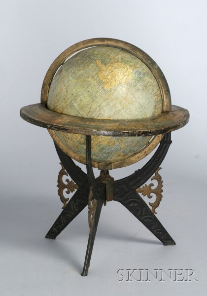 Eight-inch Terrestrial Globe by Holbrook