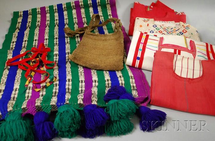 Five Guatemalan Textiles