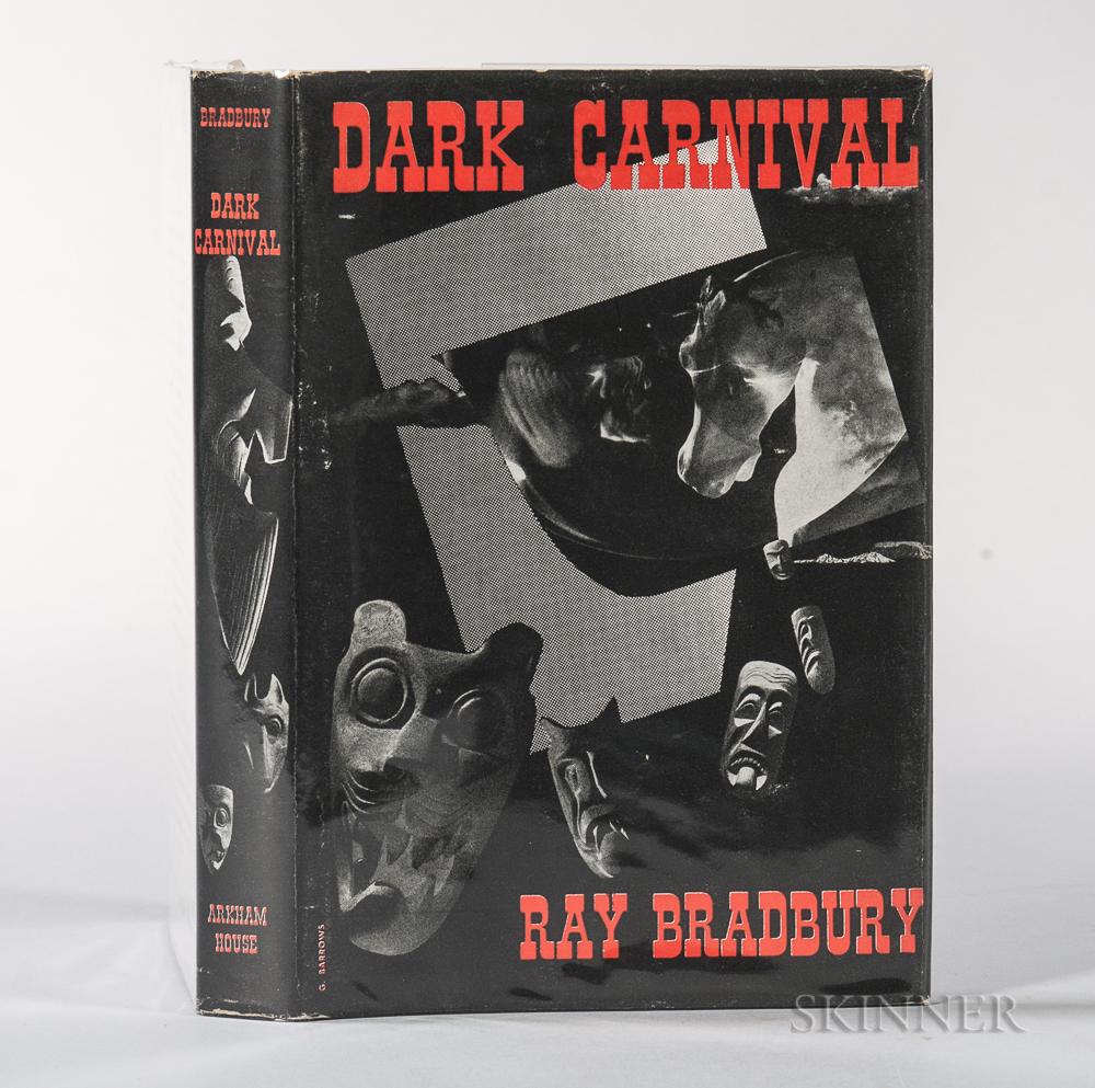 Bradbury, Ray (1920-2012) Dark Carnival,   First Edition.