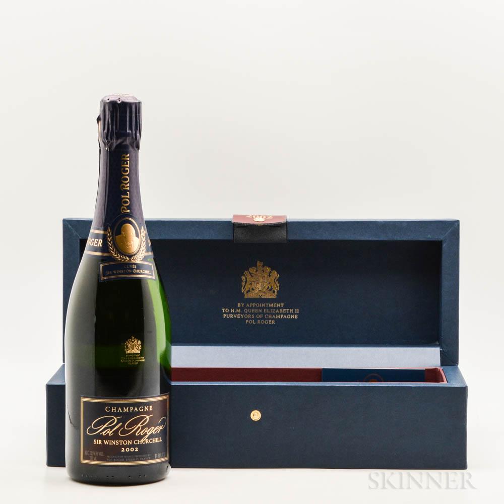 Pol Roger Sir Winston Churchill 2002, 1 bottle (pc)