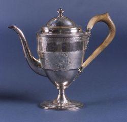 Georgian Sterling Silver Coffeepot.