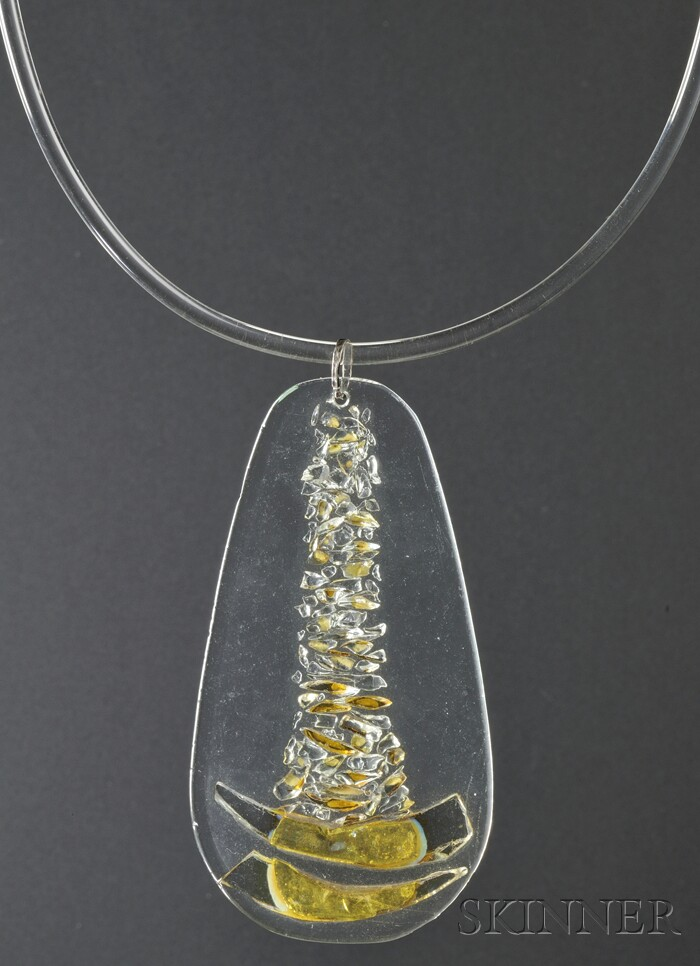 Solar-Lunar Necklace #12, Margret Craver