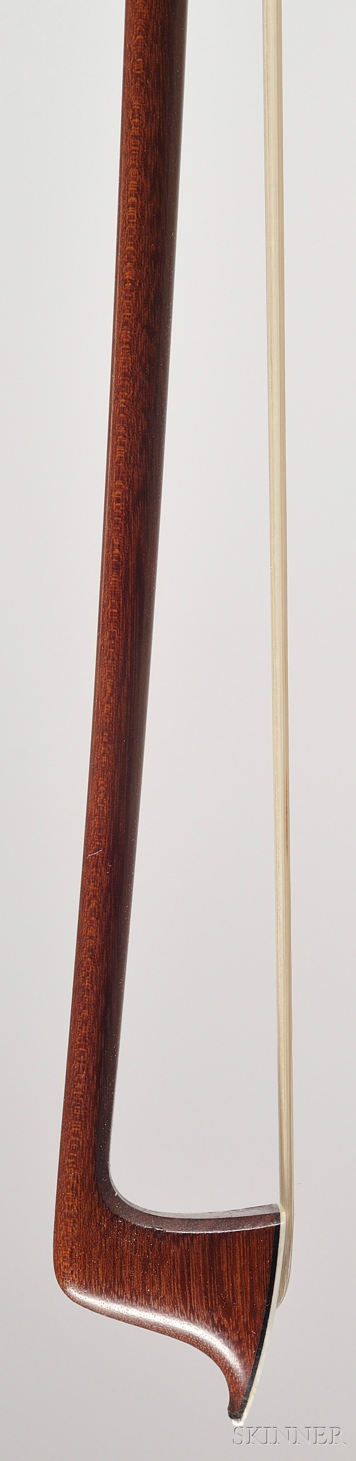 French Silver Mounted Violin Bow, Silvestre & Maucotel