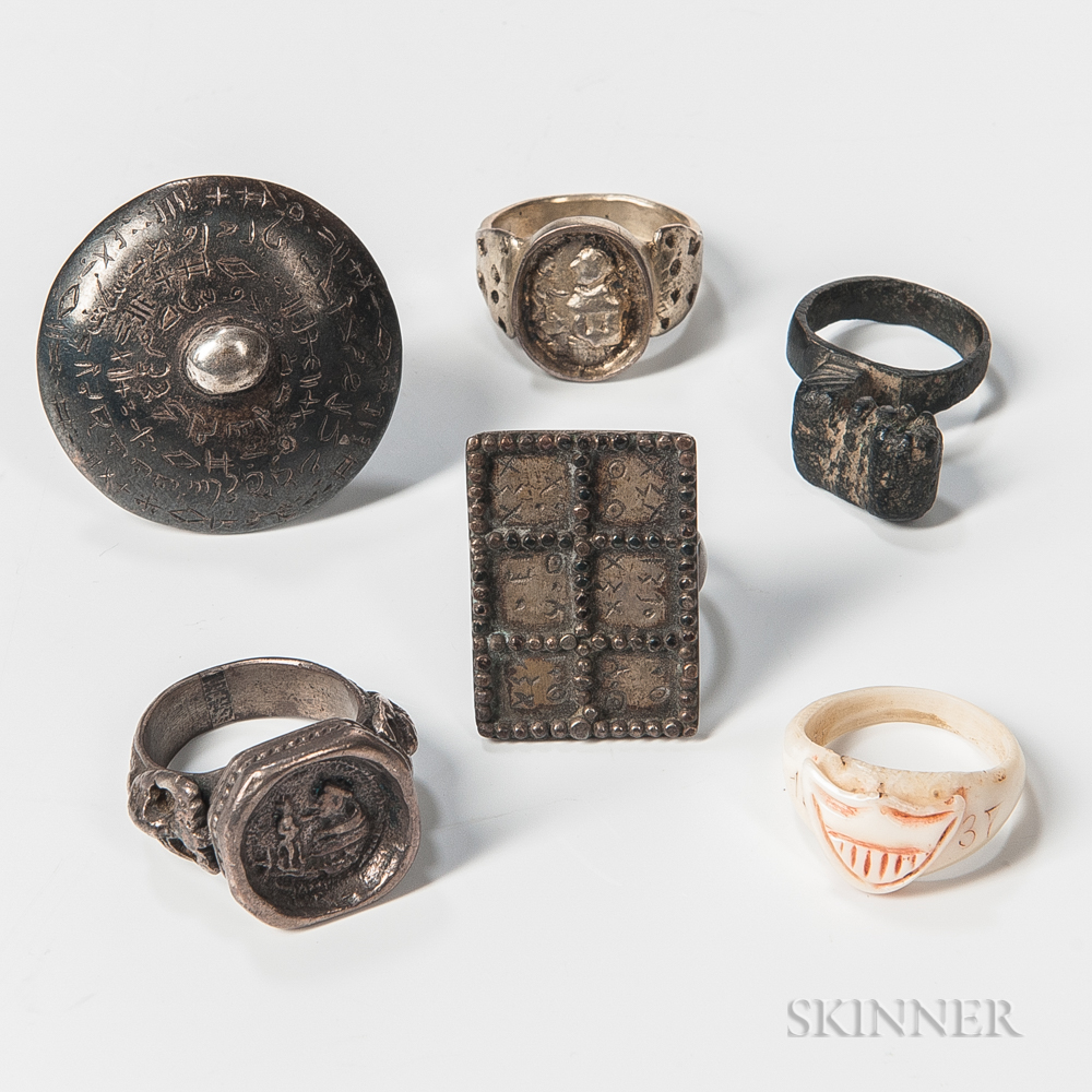 Six Gentlemen's Rings