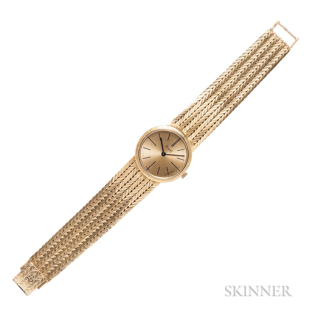18kt Gold Wristwatch, Piaget