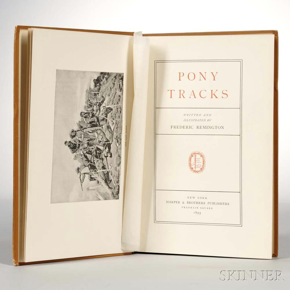 Remington, Frederic (1861-1909) Pony Tracks.