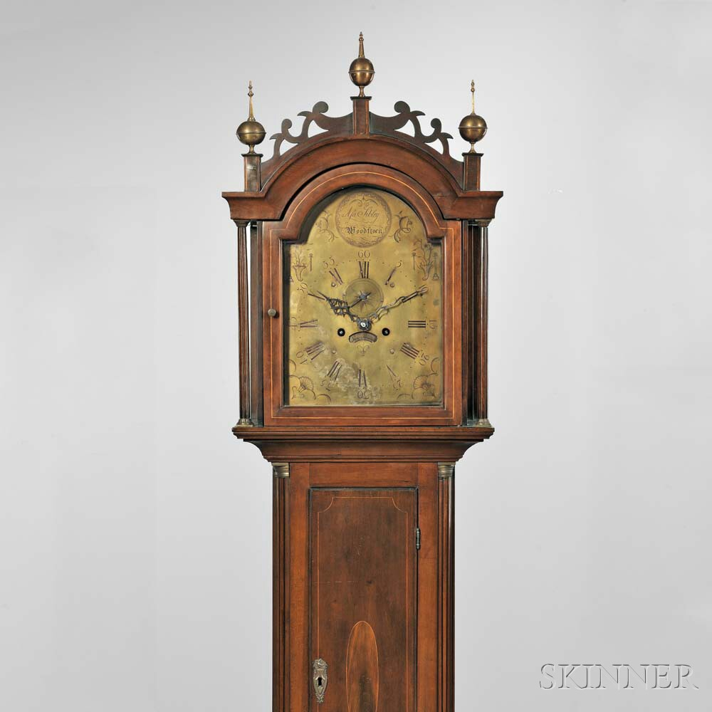 The Captain Elias Pratt II Eight-day Cherry Tall Clock