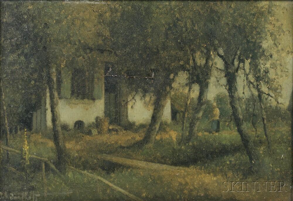Hermanus Antonius Daalhoff (Dutch, 1867-1953)      Morgen