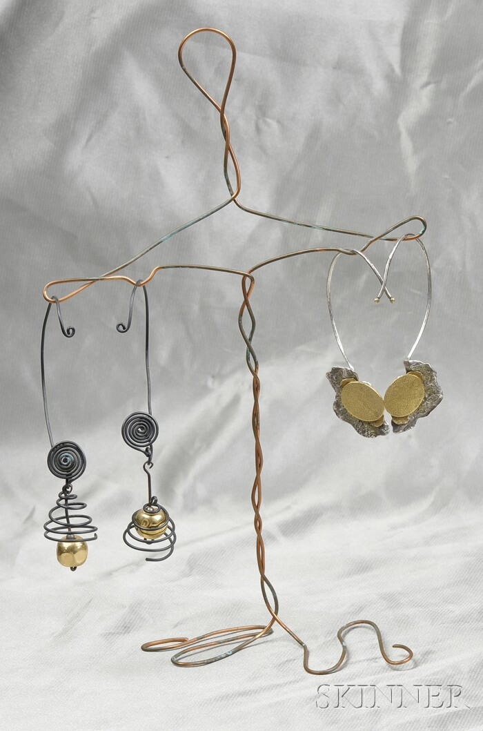 Two Pairs of Earpendants