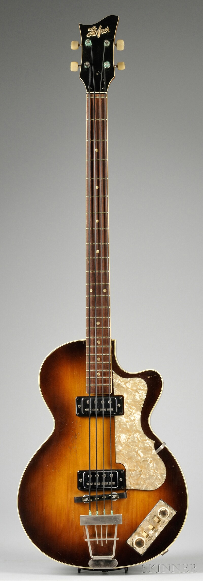 German Electric Bass Guitar, Karl Hofner Company, Schonbach, 1965, Model Club Bass