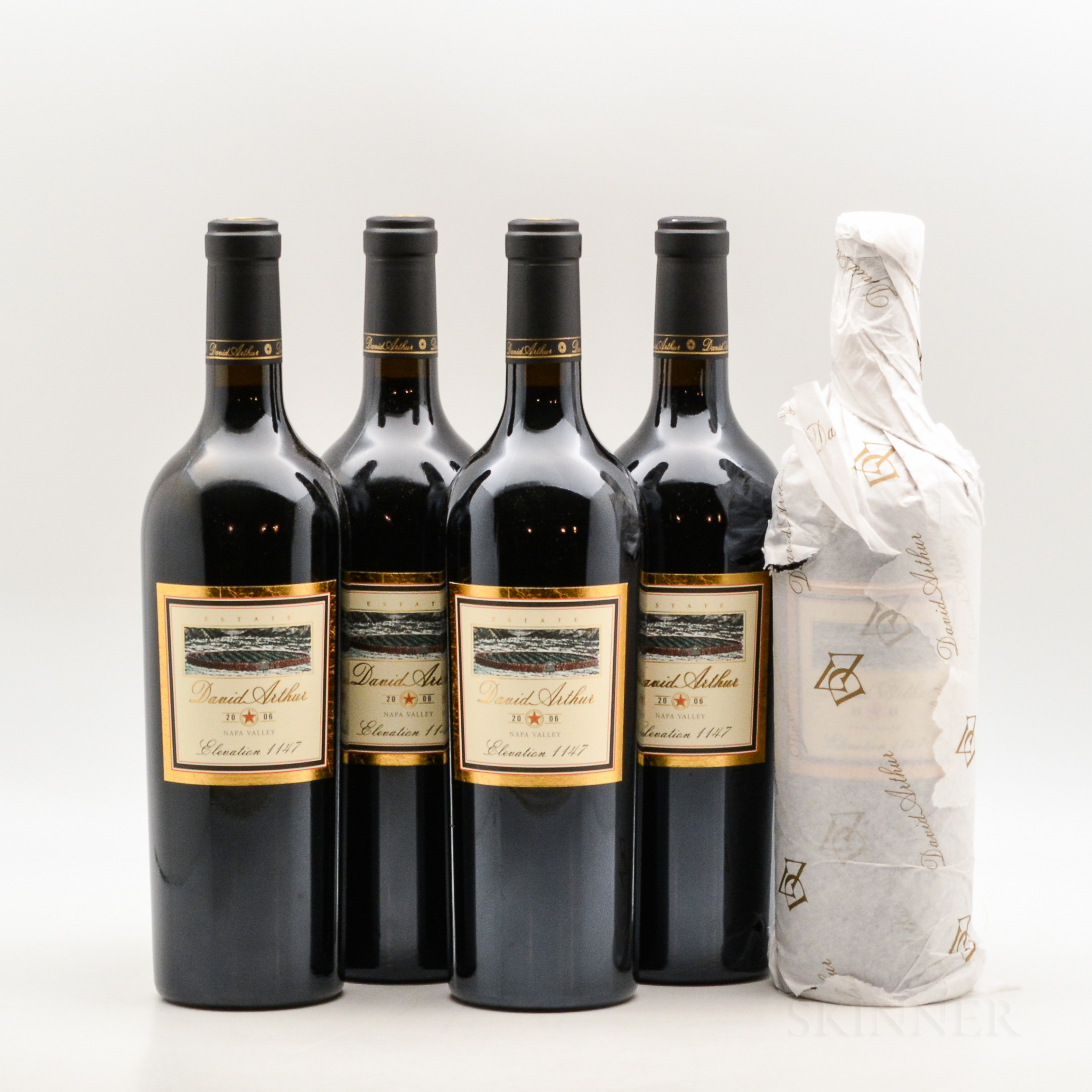 David Arthur Cabernet Sauvignon Elevation 1147 2006, 5 bottles