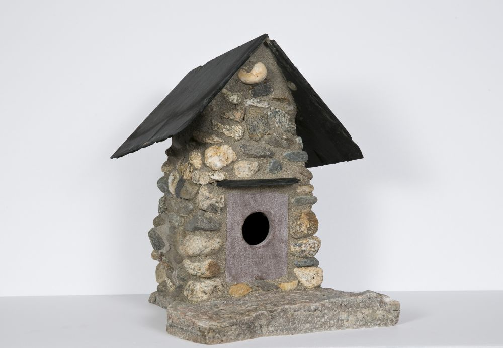 Christopher Camosse (Massachusetts, b. 1984), Stone Birdhouse
