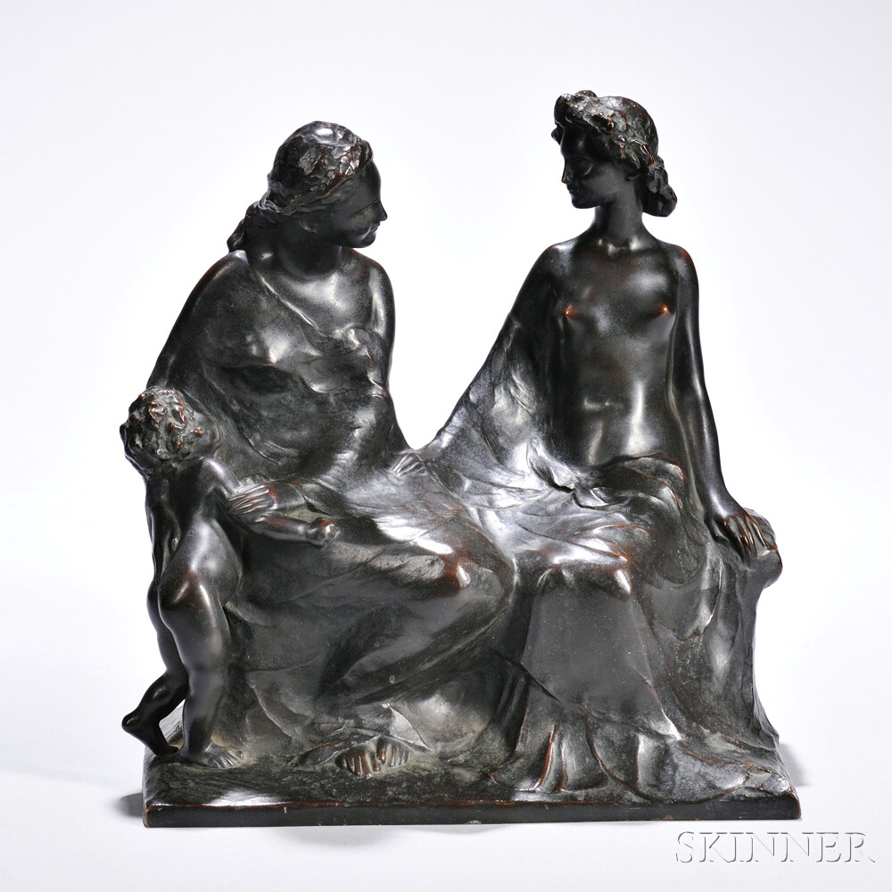 Rousseau, Victor, (France, 1865-1954)
