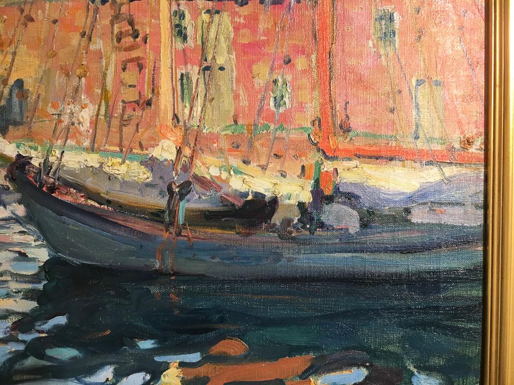Jane Peterson (American, 1876-1965)      Gloucester Fishing Boat