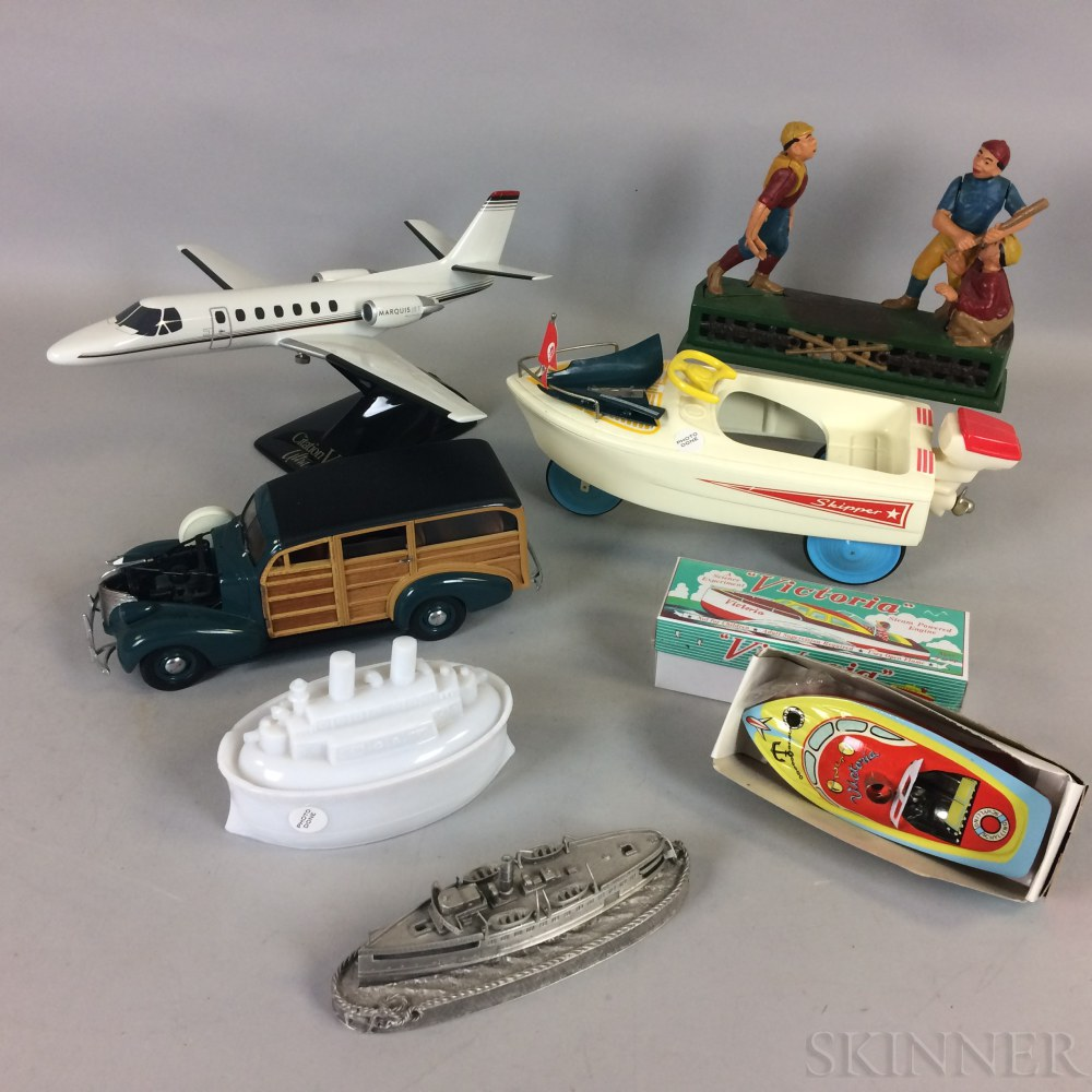 Group of Vintage and Reproduction Toys