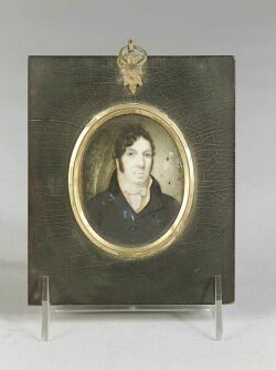 Portrait Miniature on Ivory of a Gentleman