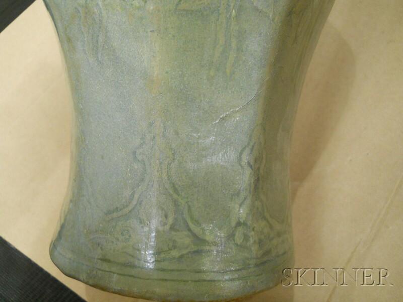 Hexagonal Maebyong Vase