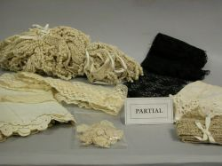 Assortment of Lace, Textiles and Textile Findings.