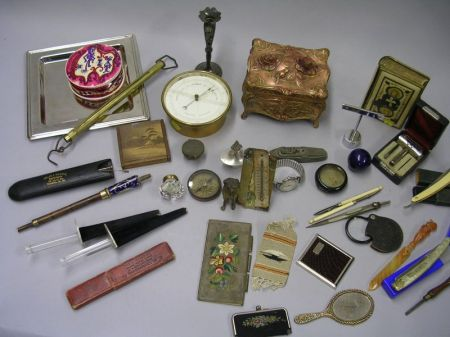 Group of Assorted Miscellaneous Tools and Ephemera
