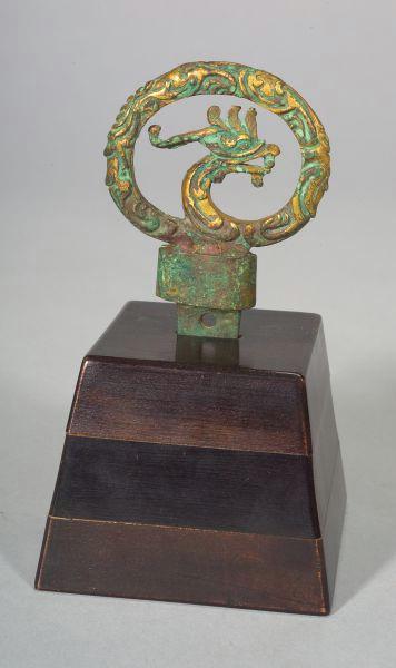 Gilt-bronze Sword Pommel