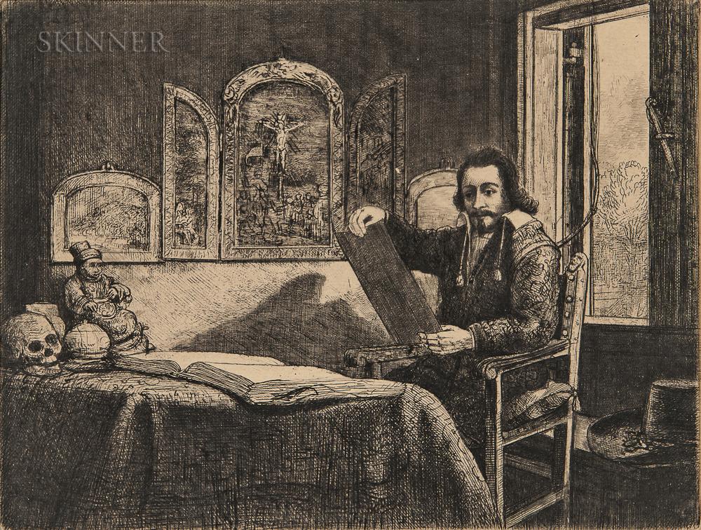 Rembrandt van Rijn (Dutch, 1606-1669)      Abraham Francen, Apothecary