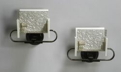 Five Pairs of  Memphis Design Wall Sconces