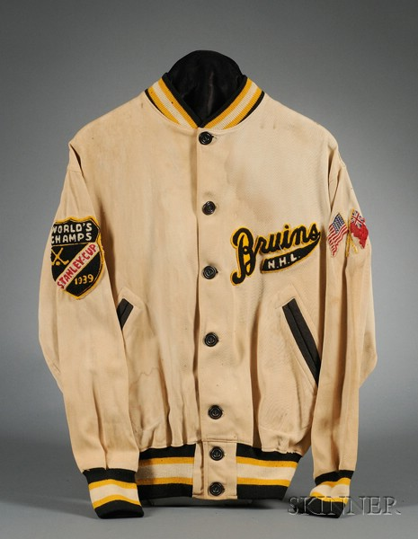 Circa 1940 Boston Bruins Warm-up Jacket