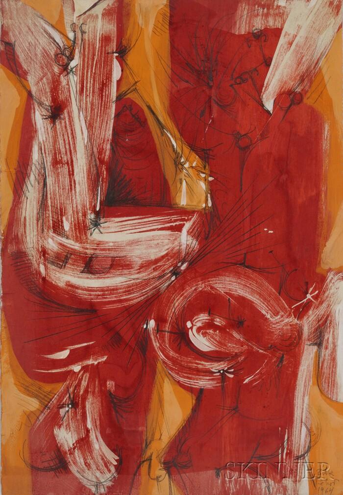 Dimitri Petrov  (Russian/American, 1919-1986)      Untitled (Bible)