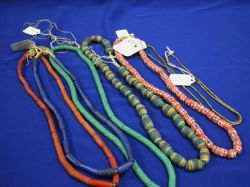 Group of African Trade Bead Jewelry.