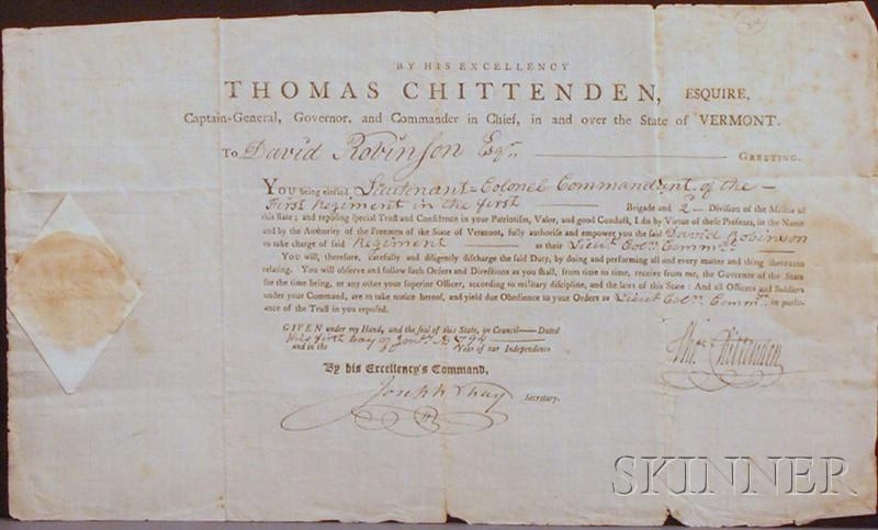 Chittenden, Thomas (1730-1797)